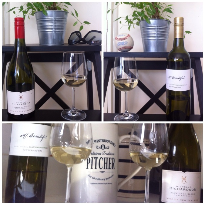 New Zealand Sauvignon Blanc - Michelle Richardson & Mt Beautiful wines