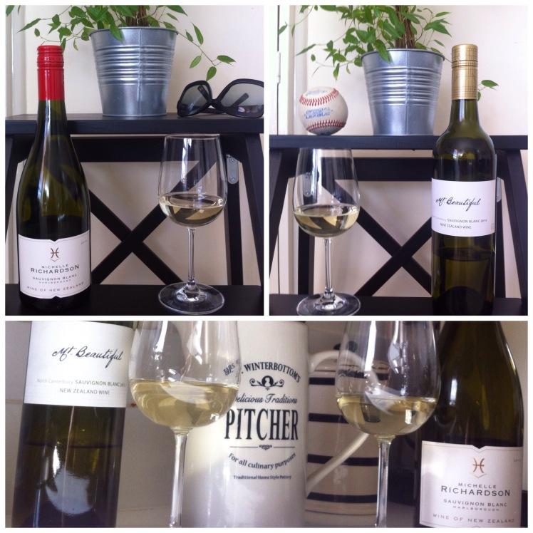 New Zealand Sauvignon Blanc - Michelle Richardson & Mt Beautiful wines