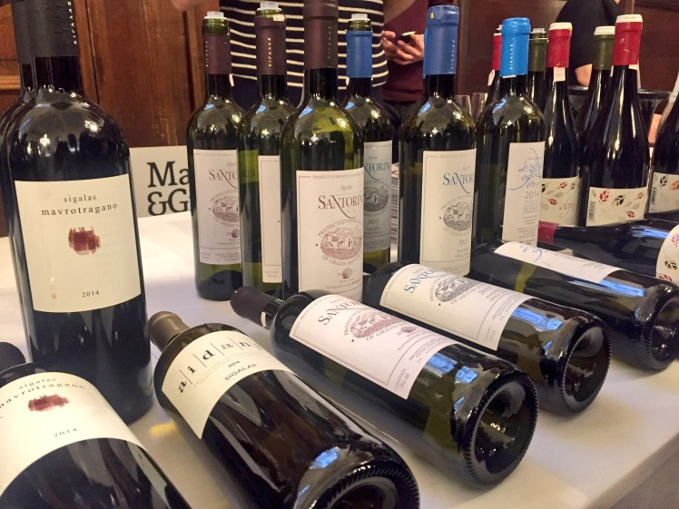 Sigalas wines in London